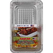 Handi-Foil Super Strong and Extra Deep BBQ Pan