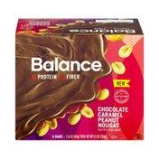 Balance Bar Chocolate Caramel Peanut Nougat Nutrition Bar- 6 CT