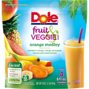 Dole Fruit & Veggie Blends Orange Medley Smoothie Mix