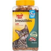 Meow Mix Irresistibles Soft Cat Treats Salmon