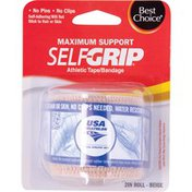 "Best Choice Self Grip Bandage Tape Roll - Beige - 2"""