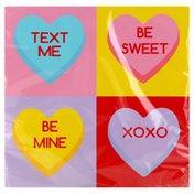 Creative Converting Napkins, Candy Hearts