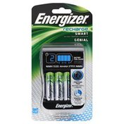 Energizer Recharge, AA/AAA Charger, Blister Pack