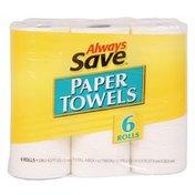 Always Save Paper Towels