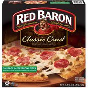 Red Baron Classic Crust Sausage & Pepperoni Pizza