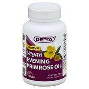 DEVA Evening Primrose Oil, Premium, Vegan, Vegan Caps