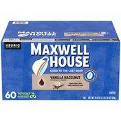 Maxwell House Vanilla Hazelnut Ground Coffee K-Cup Pods