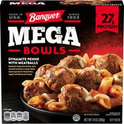Banquet Mega Bowls Dynamite Penne And Meatballs