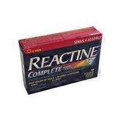 Reactine 180406 12 Hour Allergy & Sinus Tablets