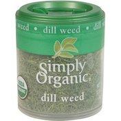 Simply Organic Certified Organic Dill Weed C/S