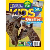 National Geographic Magazine, Giraffes, August 2021