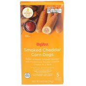 Hy-Vee Smoked Cheddar Corn Dogs