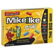 Mike and Ike Candies, Chewy, Sour Fruitz