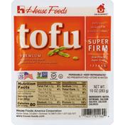 House Foods Tofu, Premium, Super Firm