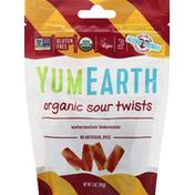 YumEarth Sour Twists, Organic, Watermelon Lemonade