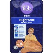 Basics For Kids Underwear, Nighttime, Boys, Large Extra Large (60-125 Lbs)