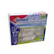 Diamond Dinnerware, Full Size, Premium Strength, Entertaining