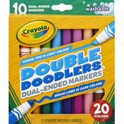 Crayola Nontoxic Washable Markers Double Doodlers