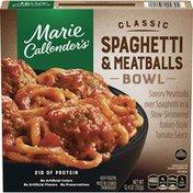 Marie Callender's Classic Spaghetti and Meatballs Bowl