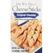 John Wm. Macy's CheeseSticks Original Cheddar
