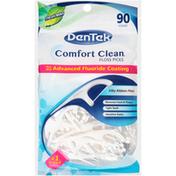 DenTek Comfort Clean Floss Picks Fresh, Mint