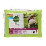 Seventh Generation Baby Size 3 Free & Clear Diapers - 35 CT