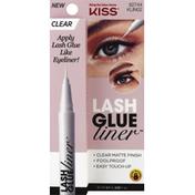 Kiss Lash Glue Liner, Clear