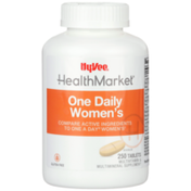 Hy-Vee Healthmarket, One Daily Women'S Multivitamin & Multimineral Supplement Tablets