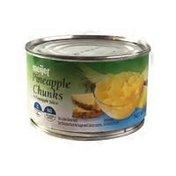 Meijer Pineapple Chunks In 100% Pineapple Juice