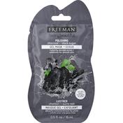 Freeman Gel Mask + Scrub, Charcoal + Black Sugar, Polishing