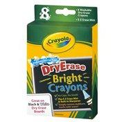 Crayola Dry Erase Bright Crayons - 8 CT
