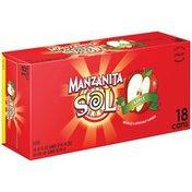 Manzanita Sol Apple Slab Soda