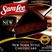 Sara Lee Cheesecake, New York Style, Chocolate