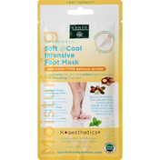Earth Therapeutics Foot Mask, Intensive