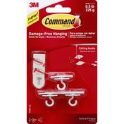 3M Command Hooks, Ceiling, General Purpose