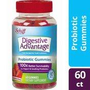 Digestive Advantage Daily Probiotic Strawberry Flavor Gummies - Supports Digestive & Immune Health