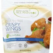 Golden Platter Chicken Wings, Crispy, Gluten Free