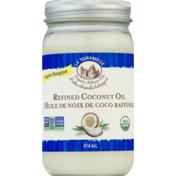 La Tourangelle Coconut Oil, Refined, Organic, Jar