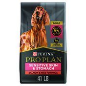 Purina Pro Plan Sensitive Skin and Stomach Dog Food With Probiotics for Dogs, Salmon & Rice Formula