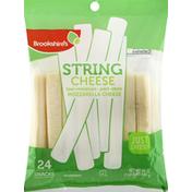 Brookshire's Cheese, Part Skim, Mozzarella, Low Moisture, String