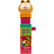 Garfield Headbutt Candy Lollipop, Strawberry