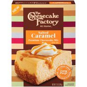 The Cheese Cake Factory At Home Salted Caramel Premium Cheesecake Mix