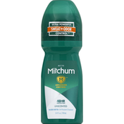 Mitchum Anti-Perspirant & Deodorant, Men, Invisible Roll-On, Unscented
