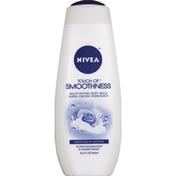 Nivea Body Wash, Moisturizing, Tea Rose Blossom Scent & Almond Essence
