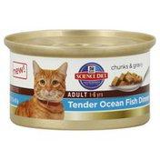 Hill's Science Diet Cat Food, Premium, Adult, Tender Ocean Fish Dinner