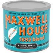 Maxwell House 1892 Blend Smooth & Balanced Medium Roast Ground Coffee