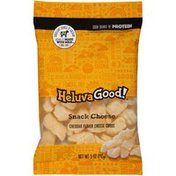 Heluva Good! Cheddar Flavor Cheese Curds Snack Cheese