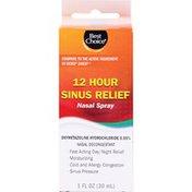 Best Choice Ultra Fine Pump Sinus Relief Nasal Spray