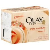Olay Moisturizing Bars, Sheer Moisture, with Mandarin Oil