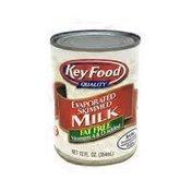 Key Food Evaporated Skim Milk